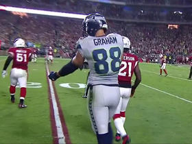 Wilson finds Graham for 14 yards