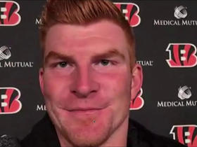 Watch: Dalton on offense: 'We played more to our potential today'