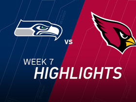 Watch: Week 7: Seahawks vs. Cardinals highlights