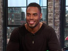 Watch: Rashad Jennings reflects on his first international trip