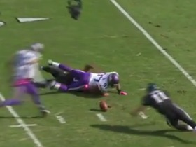 Watch: German announcers call Eagles' and Vikings back-to-back fumbles