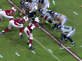 Watch: Markus Golden puts heat on Russell Wilson