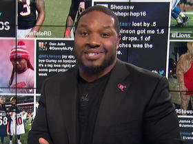 Watch: MJD takes moment to thank Arian Foster for fantasy success