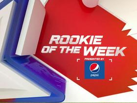 Watch: Week 7: Pepsi Rookie of the Week Nominees