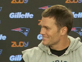 Watch: Brady: My mom thinks I'm the fastest person on the field