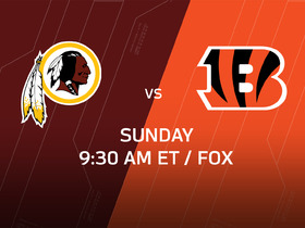 Watch: Week 8 Game Preview: Redskins vs. Bengals
