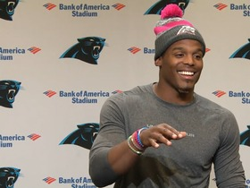 Watch: Newton: My edge is running the football inside the tackle and I don't want anyone taking that away from me