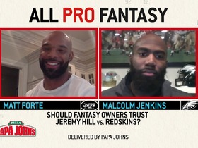 Watch: Malcolm Jenkins says to trade Jay Ajayi | All Pro Fantasy