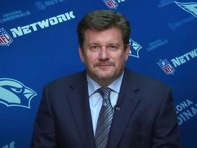 Watch: Michael Bidwill discusses 'A Football Life: Pat Tillman'