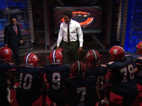 Watch: Marshall gives Cutler a pep talk: Play emotional