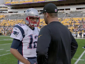 Watch: Big Ben asks Tom Brady for his jersey