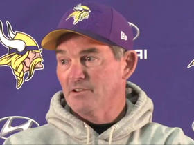 Watch: Mike Zimmer denies mutilated stuffed animal story