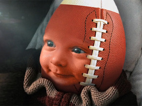 Watch: Football Baby Week 8