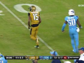 Watch: Robinson can't pull in the catch