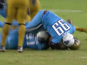 Watch: Bortles sacked for loss of 6 yards