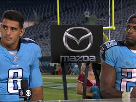 Watch: Murray and Mariota talk big victory vs. Jaguars