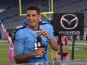 Watch: Fans sing Marcus Mariota happy birthday