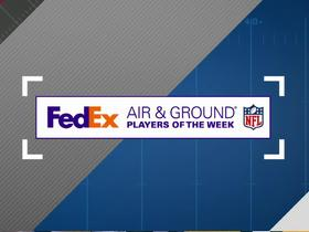 Watch: Week 7: FedEx Air and Ground winners