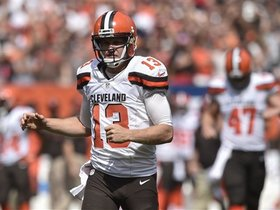 Watch: Josh McCown will start for the Browns in Week 8