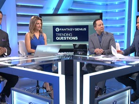 Watch: 'NFL Fantasy Live': Week 8 trending questions
