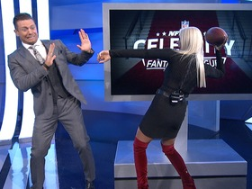 Watch: The Miz and Maryse of WWE join NFL Fantasy Live