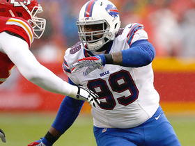 Watch: Jones: Marcell Dareus doing cartwheels at Bills practice