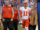 Watch: Alex Smith injured during play, goes to locker room