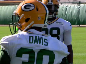 Packers release recently-acquired RB Knile Davis