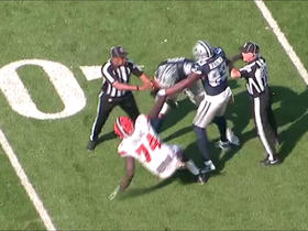 Browns starting center ejected after scuffle with Cowboys defensive lineman