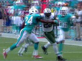 Forte sneaks through line for 32 yards on 3rd & 1