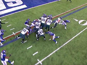 Darren Sproles stopped on fourth down try