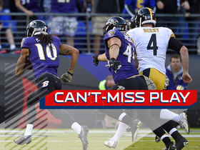 Can't-Miss Play: Ravens block punt, take it to the house