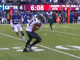 Matthews hauls in huge fourth down catch