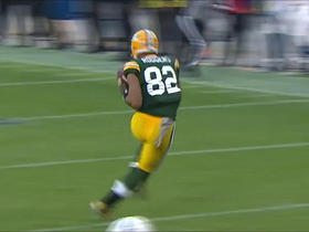 Aaron Rodgers throws dart to Richard Rodgers for 22 yards