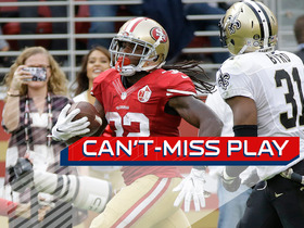 Can't-Miss Play: Saints can't catch Harris on 47-yard TD
