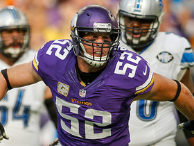 Matthew Stafford picked off by Chad Greenway
