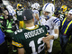 Watch: Andrew Luck vs. Aaron Rodgers highlights
