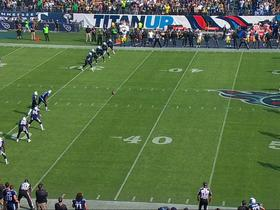 Titans attempt onside kick to start game