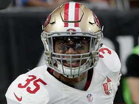 J.J. Nelson drops pass, Eric Reid comes up with INT