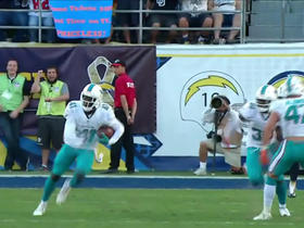 Rivers throws second INT, this time to Maxwell