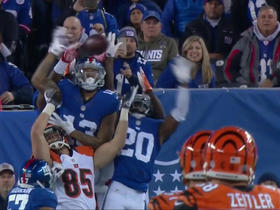 Odell plays defense against Bengals' Hail Mary attempt