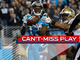 Watch: Can't-Miss Play: Cam zings 40-yard TD pass to Ted Ginn, Jr.
