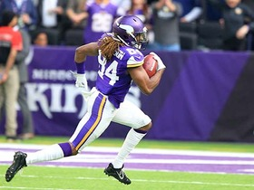 Cordarrelle Patterson kicks off second half with 104-yard return TD