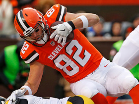 Watch: Gary Barnidge pulls in a 14-yard TD reception