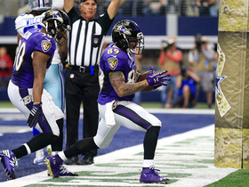 Watch: Joe Flacco finds Steve Smith Sr. for a 5-yard touchdown catch