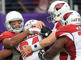 Ball don't lie! Cardinals force fumble one play after just missing one
