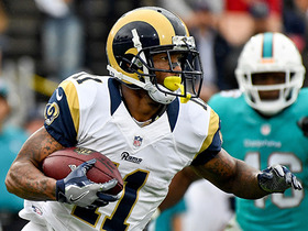 Tavon Austin slashes through Dolphins defense