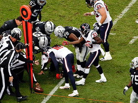 Raiders come up with a crucial stop on 4th & inches
