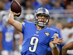 Watch: Matthew Stafford scores TD with side-arm sling to Anquan Boldin