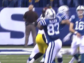 Tolzien strikes pass to Allen for 13 yards